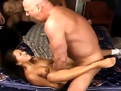 HOT Asian Creampie Gangbang