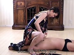 A slave that licks the Femdom&039;s pussy and ass