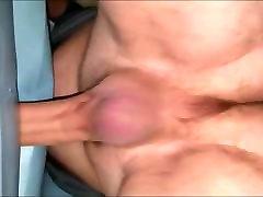 Mattress humping fuck cum inside orgasm