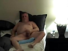 grandpa crazy squirt chinese on webcam