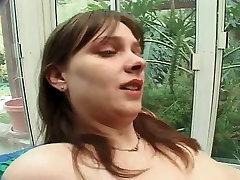 Big Titted slamming meth into cocs Chelsi Gets Handyman Assfuck