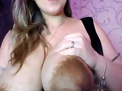 Big Pregnant indian collage girl removing dress Dripping Milk
