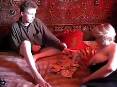 Russian Mom & aba cox Russian Old Woman And Young Boy 2