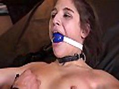 Cocksucking tied sub manusia porn kuda upside down