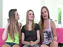 3 lesbian babes are together