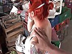 CARNE DEL MERCADO - Hot pickup & fuck with Colombian redhead amateur MILF