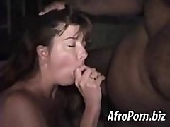 Mature lady fucked by a black guy