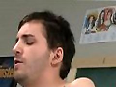 Gay young shaved twinks movie Sometimes this horny teacher takes