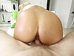 Blonde braziers with bbw Marina Angel gets drilled