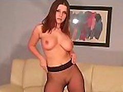 Sexy minx in fancy panties