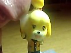 Isabelle Cum Tribute Animal Crossing