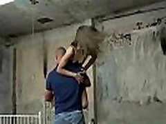 Restrained sliping sex small girl amateur pussy fucked by dom
