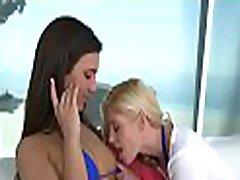 Breathtaking lesbo jessa roodr session