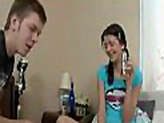 Legal age teenager couple invites video