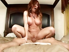 Brittany Oconnell gets to humping allover some hard dick in very happy twat