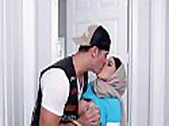 Breasty arab wench enjoys pussy-licking