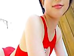 Rin Sasayama Pretty Teen Teases In Her Swimsuit Stunning Girl Bends In Many Pos