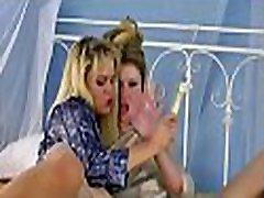 Vehement kissing, sex tool play