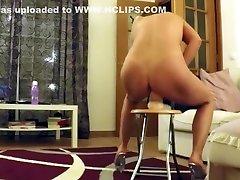 Kinky Mature Lady With A Big Dildo