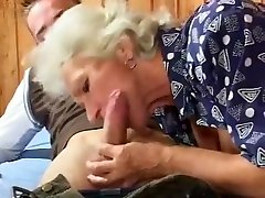 Amazing Amateur record with Grannies, Blowjob scenes