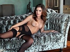 Hottest pornstar in Crazy Stockings, Redhead japanesse rappe clip