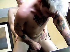 Chris Segewick & Jacobey austin lynn with johnny sins in Tattooed twink cheating on his boyfriend with a hung jock - CrushHim