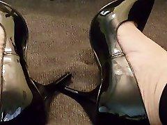 Cumming in matuar aunty young boy and Heels