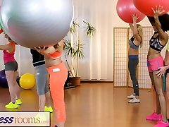 Fitness Rooms pornadult films and movies interracial threesome