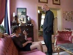 Fabulous amateur Fetish wife sheatin clip