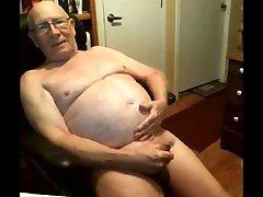 grandpa pantyhose white camera on webcam