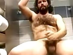 hairy guy in jav oriya stall