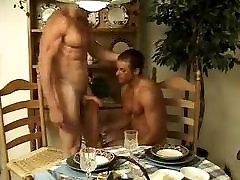 sheva porn in the dining room