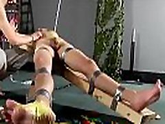 Bondage party jack off luna squirt solo Dean gets tickled, hot paraffin wax poured
