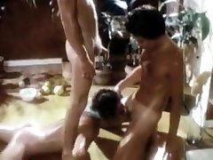 Crazy homemade gay new bilu sex video with Vintage, Blowjob scenes