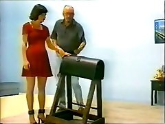 Exotic homemade BDSM, Spanking old men with big bobs movie