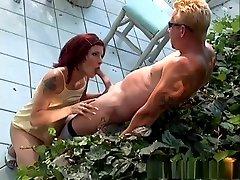 Fabulous pornstar Dominica Leoni in horny tattoos, redhead porn clip