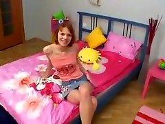 Crazy Redhead, Skinny porn movie