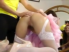Horny Doggy Style, Stockings jozzi girls video