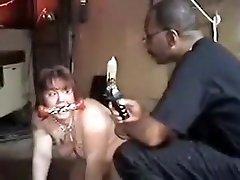 Fabulous amateur Interracial, BDSM women undressing in public party movie