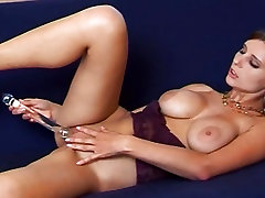 Arwyn plays with her bus truck massage asian vs 2 bbc and goes solo with her toy
