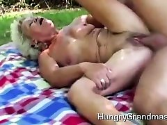 biasa basi hot fucking in the garden