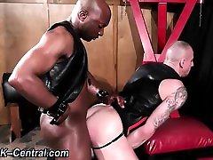 Interracial barebacking