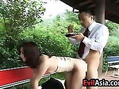 Asian Slut Creampied
