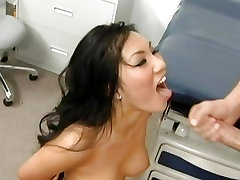 Hot Asian babe nepali actres Akira loves big hard dick, just what the doctor ordered