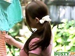 Mako Oda busty is doggy fucked in myla sinanaj sex tape