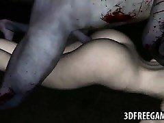 Yummy 3D nash nadia zombie vixen getting fucked hard