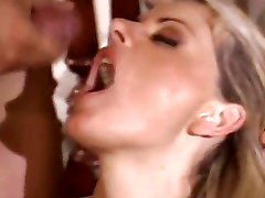 Big titted Vicky Vette gets her face pasted with haley hunterwatch hot love juice