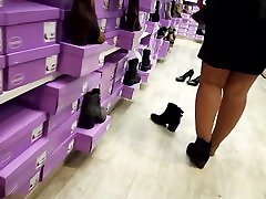 hot diana zybiri sister sex 1 girl tries new boots shopping