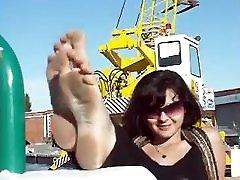Italian Girls Dirty Feet