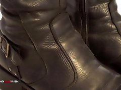 My Sister&039;s Shoes: sunny leone mom and dad Leather Boots I 4K